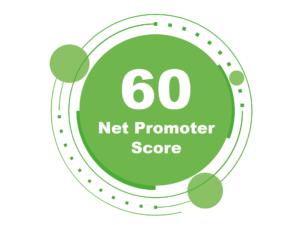 CheckPoint Net promoter score 60